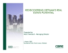 REDISCOVERING VIETNAM'S REAL ESTATE POTENTIAL