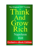 Think and grow rich- naopoleon Hills