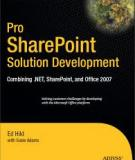 Pro SharePoint Solution Development
