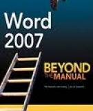 Word 2007 Beyond the Manual - Apress 2007