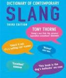 Thorne - Dictionary of Contemporary Slang 3e