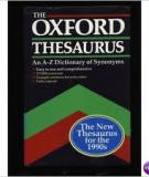 Oxford Thesaurus - An A-Z Dictionary Of Synonyms