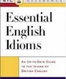 Essential English Idioms - Intermediate