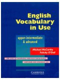 English vocabulary in use upper intermediate and advnaced