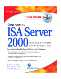 Configuring ISA Server 2000 Building Firewalls for Windows 2000