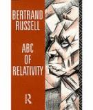 BERTRAND RUSSELL ABC OF RELATIVITY