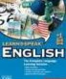 This book contains a wide range of activities aimed at improving your English and developing the language and skills which you will need to pass the examination.