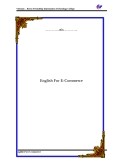 English For E-Commerce