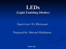 LEDs_ Light Emmitting Diodes