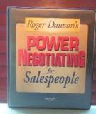 Techniques for sales by Roger Dawson