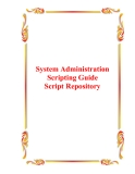 System Administration Scripting Guide Script Repository