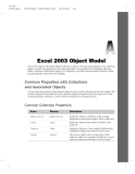 Excel 2003 Object Model