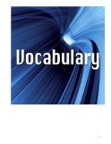 Commercial English - Vocabulary