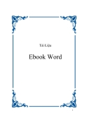 Ebook Word