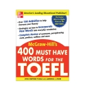 400 words must have for TOEFL