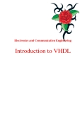 Electronics and Communication Engineering: Introduction to VHDL