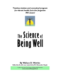 The Science of Being Well - By Wallace D.Wattles