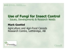 Lecture insect disease - Use of Fungi for Insect Control