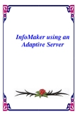 InfoMaker using an Adaptive Server