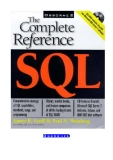 SQL: The Complete Reference by James R. Groff and Paul N. Weinberg