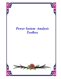 Power System  Analysis Toolbox
