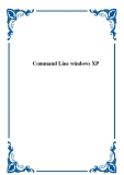 Command Line windows XP