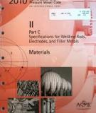Specifications for Welding Rods, Electrodes, and Filler Metals