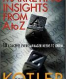 Marketing insights from A to Z – Philip Kotler