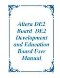 Altera DE2 Board  DE2  Development and Education Board User Manual