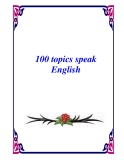 100 topics speak English