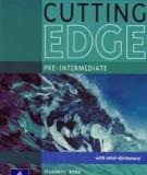 New Cutting Edge Pre-intermediate