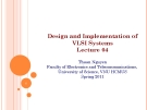 Design and Implementation of VLSI Systems_Lecture 04: Mos transistor Theory