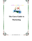 The Guru Guide to Marketing