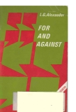 For and Against An Oral Practice Book For Advands Students Of English