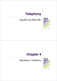 Telephony - Chapter 4: Signalling in Telephony