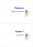Telephony - Chapter 7Voice Over IP