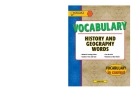 Vocabulary History and Geography Words_01