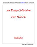 An Essays Collection For TOEFL