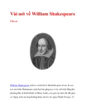 Vài nét về William Shakespeare_1