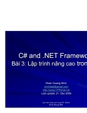 C# and .NET Framework phần 3