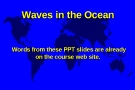 Geography and Oceanography - Chapter 17