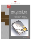 Báo Cáo Đề Tài:  Backup and Restore data + Hard disk Management