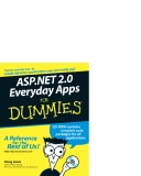 ASP.NET 2.0 Everyday Apps For Dumies 2006 phần 1
