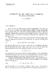 "Báo cáo toán học: ""Stability of the index of a complex of Banach spaces """