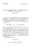 "Báo cáo toán học: ""Spectra of compressions of an operator with compact imaginary part """