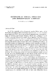 "Báo cáo toán học: ""Extensions of normal operators and hyperinvariant subspaces """