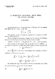 "Báo cáo toán học: ""A weighted bilateral shift with no cyclic vector """