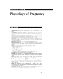 HIGH-YIELD  FACTS  IN  Physiology of Pregnancy