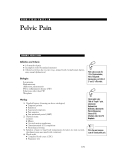 HIGH-YIELD FACTS IN - Pelvic Pain
