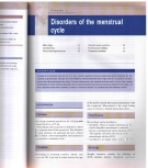 Disorders of the menstrual cycle
